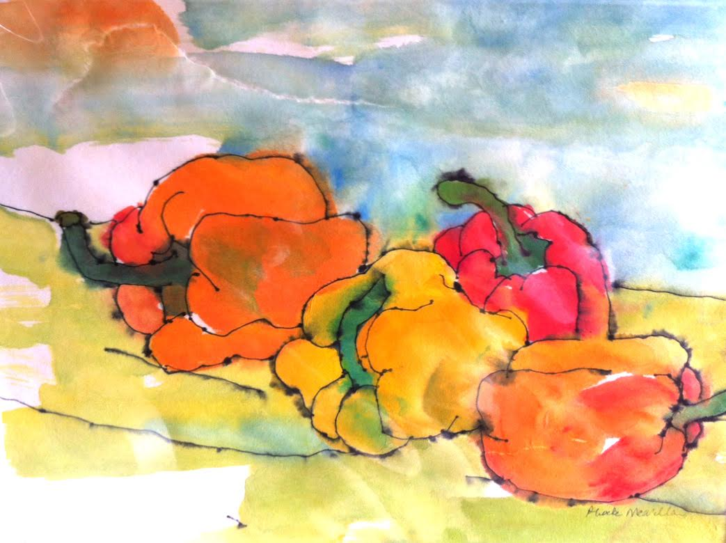 Phoebe McMillian - Orange Peppers