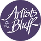 Artists on the Bluff Mobile Retina Logo