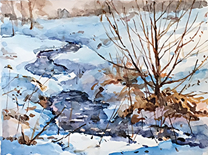 Watercolor by Thomas Trausch